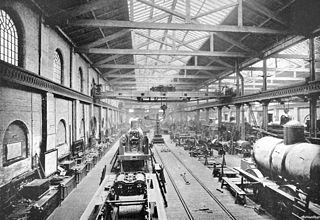 Crewe Works British railway engineering facility