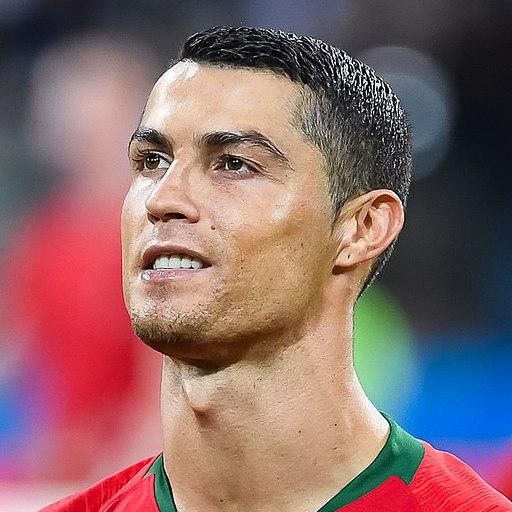 Cristiano Ronaldo 2018 (cropped)