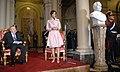Cristina Fernández en homenaje a Raúl Alfonsín.jpg