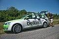 Critérium du Dauphiné 2014 - Etape 6 - Préparation du ravitaillement chez Belkin.jpg