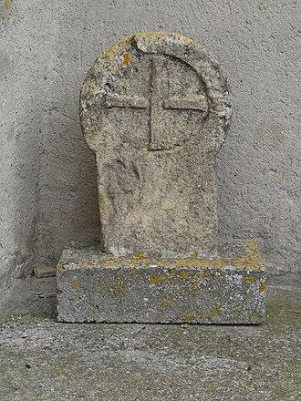 Airoux - Cemetery Cross at Airoux