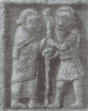 Cross of the Scriptures detail - Crawford plate 146