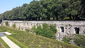 Villa of Domitian - Cryptoporticus of Villa of Domitian