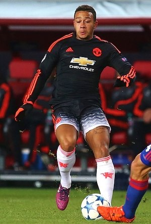 Memphis Depay - Depay with Manchester United in 2015