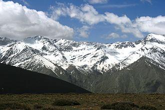 Penibaetic System - Upper Valdeinfierno river basin in Sierra Nevada