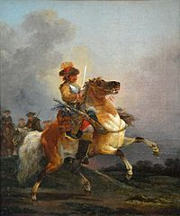 Cuirassier Galopping