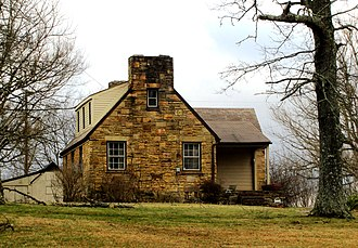 Cumberland Homesteads - A typical Cumberland Homesteads house
