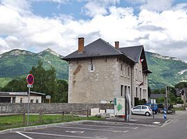 The town hall in Curienne