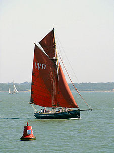 Cutter at Yarmouth Old Gaffers Festival 2009 3.jpg