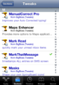 Cydia Tweaks section.png