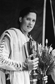 Cynthia Woodhead American swimmer, Olympic silver medalist, world champion, former world record-holder