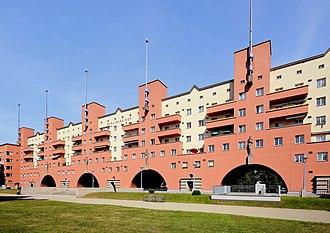 Red Vienna - Karl-Marx-Hof, built between 1927 and 1933
