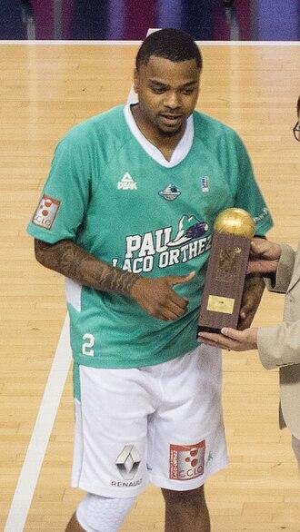 LNB Pro A MVP - Image: D.J. Cooper 2017 05 24