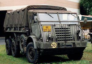 DAF Trucks - A DAF YA-328 military truck