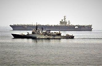 Maestrale-class frigate - Libeccio, Indian Ocean 2005