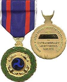 transportation distinguished service medal