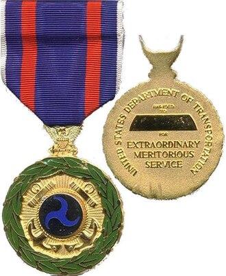 Transportation Distinguished Service Medal - Transportation Distinguished Service Medal