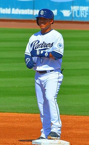 Alexi Amarista - Amarista with the San Diego Padres