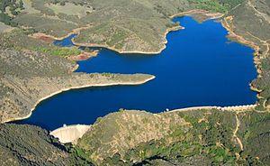 Santa Ynez River - West end of Jameson Lake, 2012