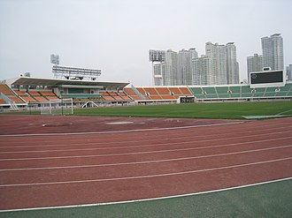 Football at the 1988 Summer Olympics - Image: Daegu Civil stadium 2
