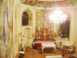 Dagstuhl - The chapel at Schloss Dagstuhl.