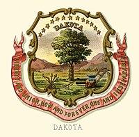 Dakota Territory stemma
