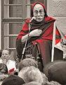 Dalajlama in Prague II., 17. 10. 2016 Hradcanske namesti. Photo Nadia Rovderova.jpg