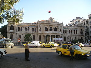 Hejaz railway - Hejaz Railway Station in Damascus,  the original starting point of the railway.
