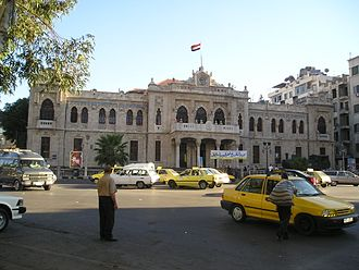 Al-Hejaz Station Damascus-Hejaz station.jpg