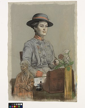 Maud McCarthy - Dame Maud Mccarthy, GBE, RRC – Matron-in-chief in France of Queen Alexandra's Imperial Military Nursing Service