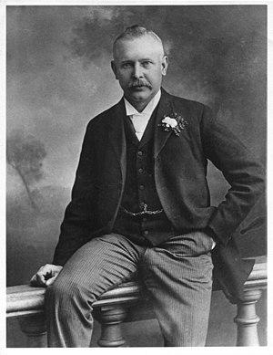 Dan Albone - Dan Albone in 1905