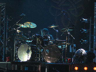 Gamma Ray (band) - Drummer Dan Zimmermann live in Barcelona in 2005