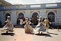 Dancers in Grand Peterhof Palace Petrodvorets 04.jpg