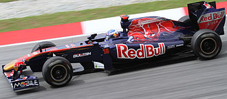 Daniel Ricciardo - Ricciardo as Scuderia Toro Rosso's third driver at the 2011 Malaysian Grand Prix.