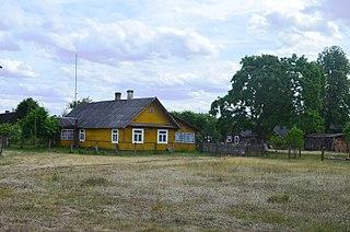 Daržinėlės Village in Alytus County, Lithuania