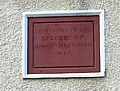 Date stone of the Methodist Church, Llancloudy - geograph.org.uk - 622300.jpg