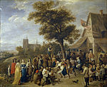 David Teniers (II) - Peasants Merry-making - WGA22096.jpg