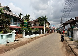 Dawei City in Tanintharyi Region, Myanmar