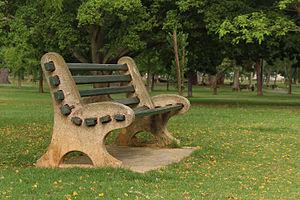 De Waal Park - Image: De Waal Park Bench