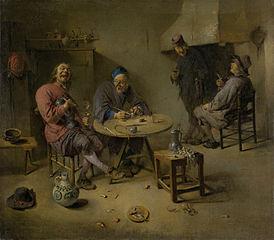 The barroom