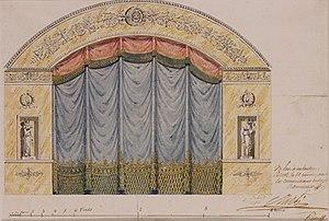 François Debret - Image: Debret Projet Théâtre Cercle du Commerce à Brest
