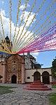 Decoración fiesta patronal de la Misión de San Miguel Concá Querétaro, México .jpg