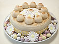 Decorated Simnel cake (14173161143).jpg