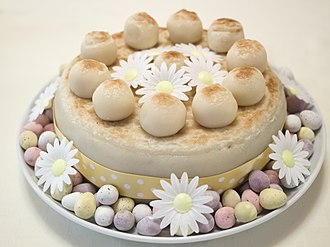 Fruitcake - A traditional Easter Simnel cake