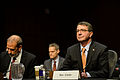Defense Secretary Ash Carter testifies on the proposed budget for fiscal year 2016 before the Senate Armed Services Committee in Washington, D.C., March 3, 2015 150303-D-AF077-052.jpg