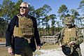 Defense Secretary Chuck Hagel at Camp Lejeune 141118-D-AF077-095.jpg