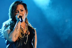 The Neon Lights Tour - Demi Lovato during The Neon Lights Tour in Belo Horizonte