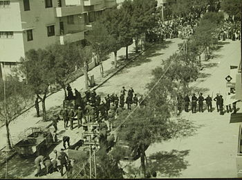 Demonstration in Tel Aviv against the British mandate policy H ih 038.JPG
