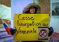 Demonstrations and protests in Venezuela in 2019 in Quebec city, Canada 13.jpg