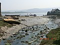 Derelict Boats Left Dry by the low tide at Conwy - panoramio.jpg